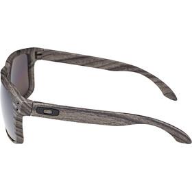 Oakley Holbrook Gafas ciclismo, woodgrain/prizm daily polarized